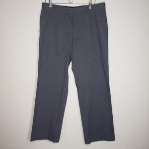 Express Gray Producer Career Trousers